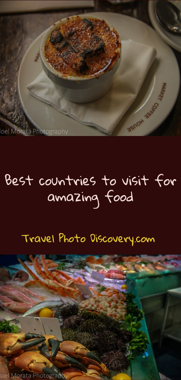 Best countries to visit for amazing food and cuisine