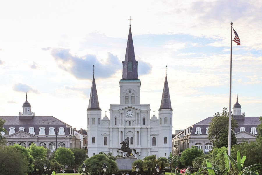 New Orleans a romantic city