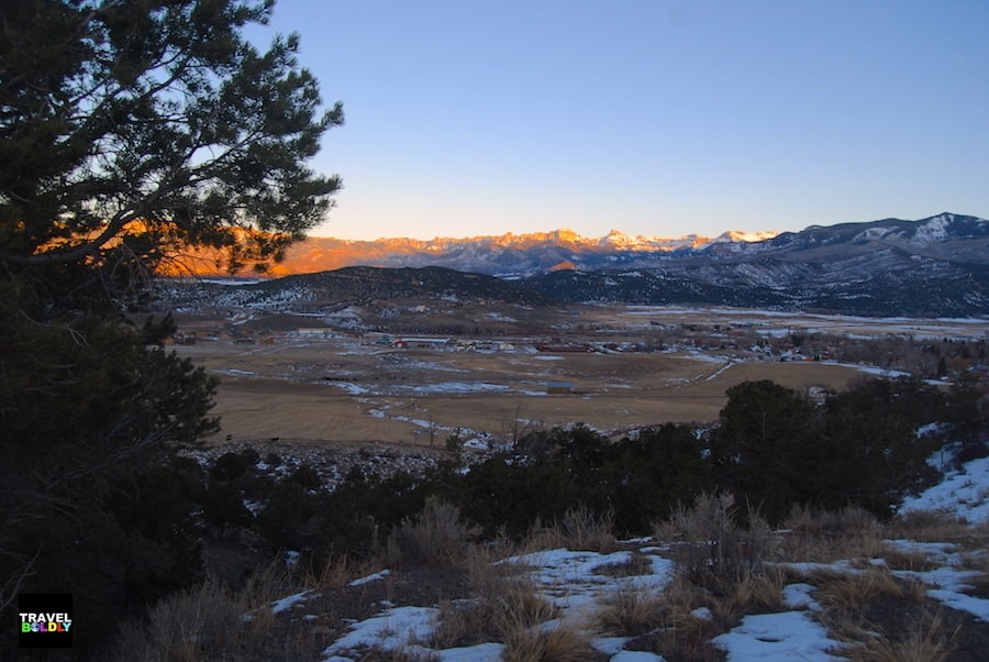 Ridgway Colorado View