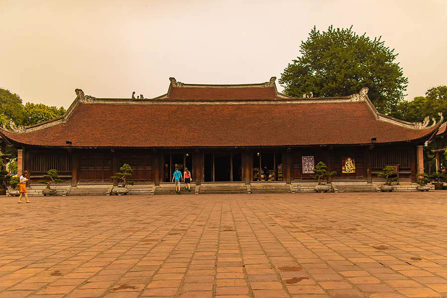Temple of Literature in Hanoi Vietnam