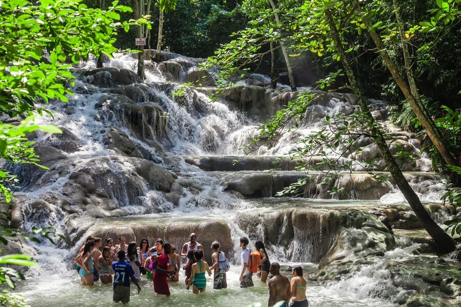 Dunns River Best places to visit in Jamaica