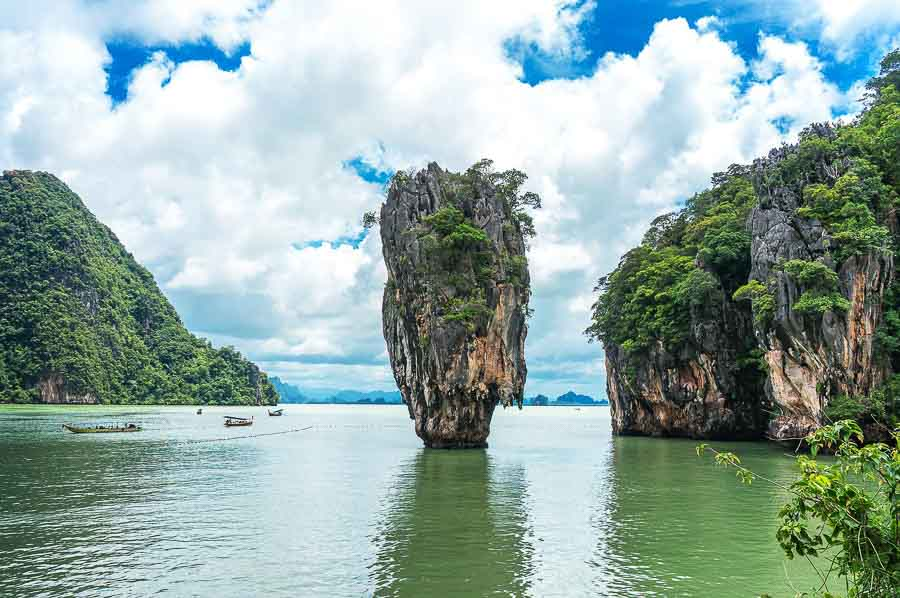 Phang-Nga in South Thailand