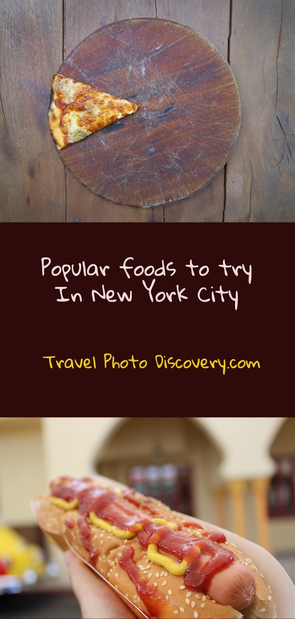 Popular foods to try in New York City