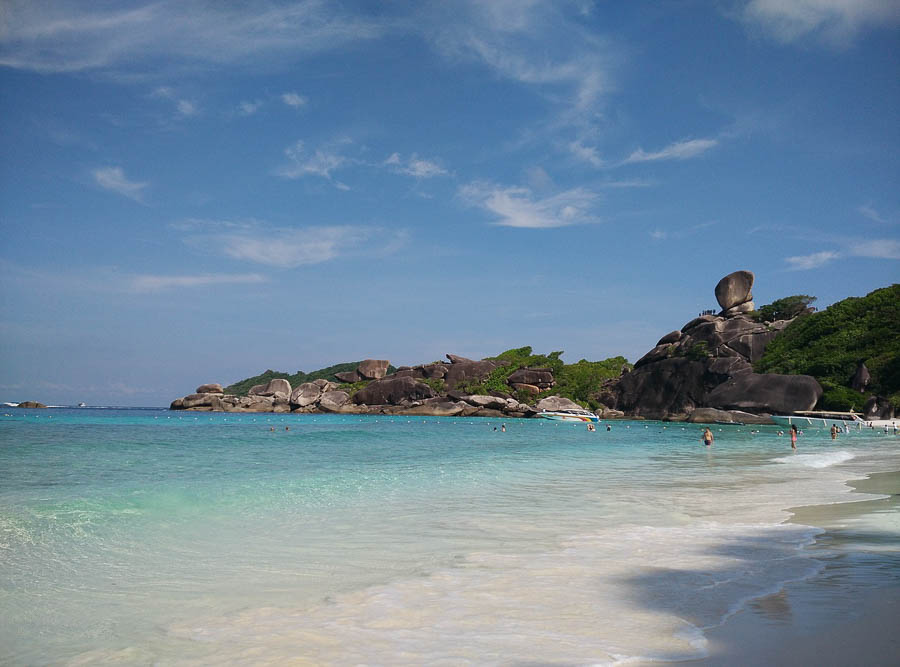 similian islands in Thailand