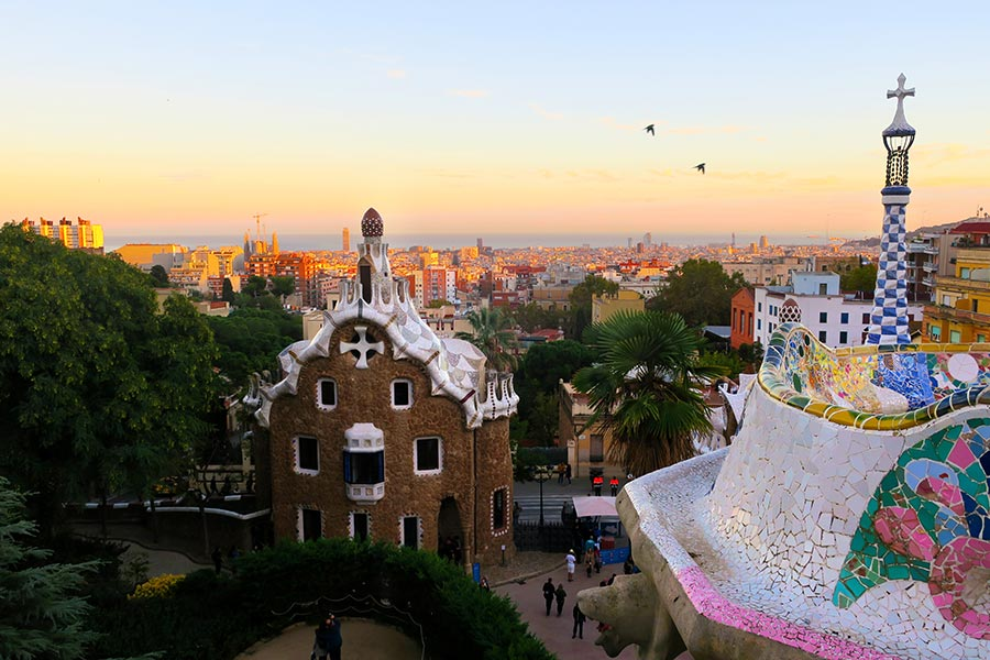 Barcelona viewpoints_Parc Guell