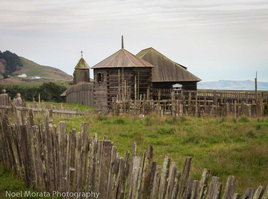 Fort-Ross-in Sonoma places to visit in california