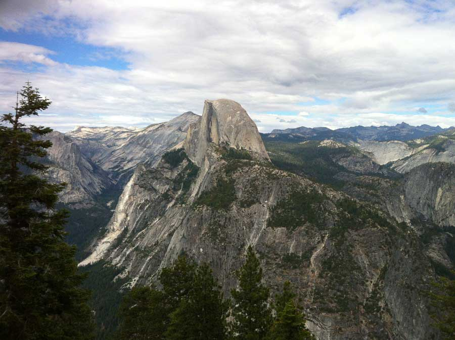 Half Dome from Glacier Point_