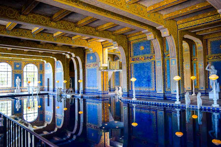 Hearst Castle-visiting california