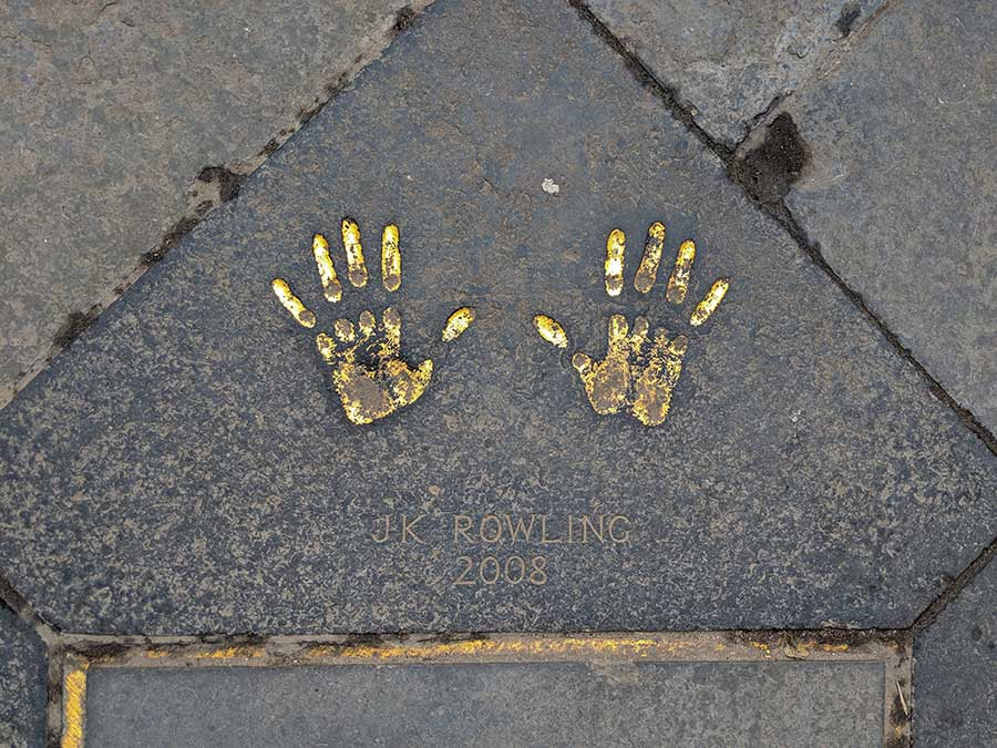 J.K.-Rowling's-handprints-in-Edinburgh