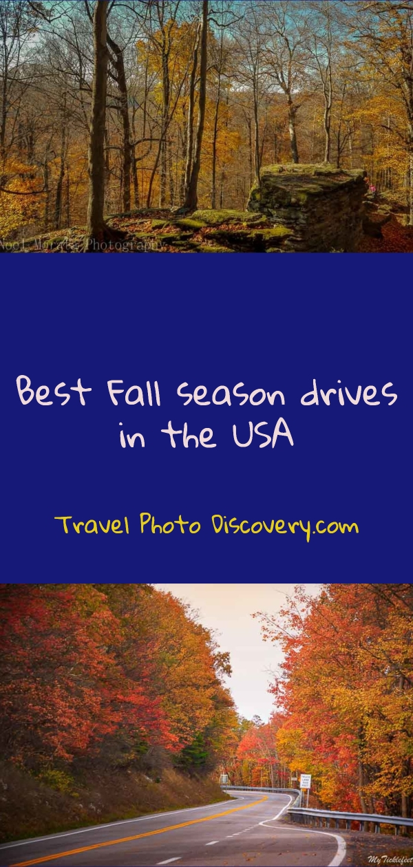 Fall drives in the USA pinterest