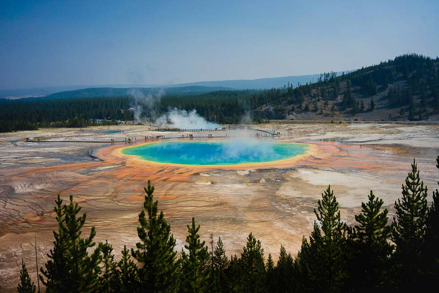 Grand-Prismatic-during fall time