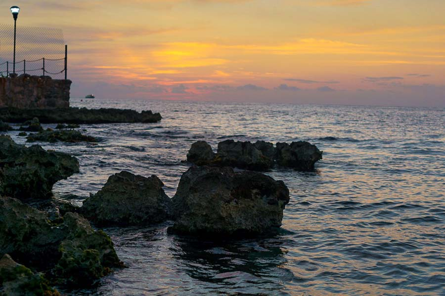 Cozumel Sunset in winter