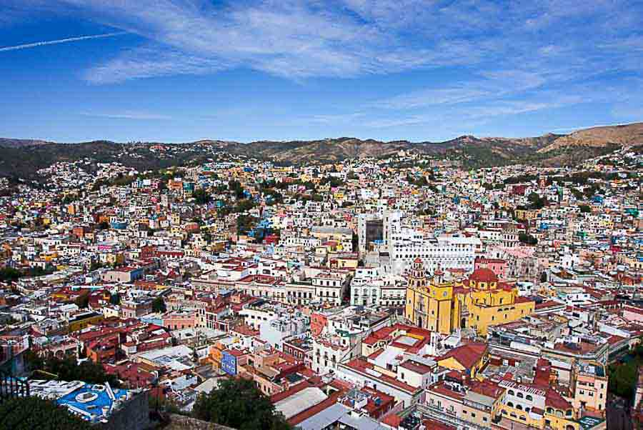 Guanajuato in winter time