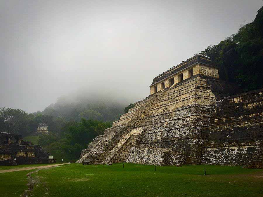 Exploring Palenque in Mexico