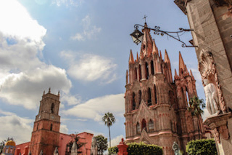 winter in San Miguel de Allende