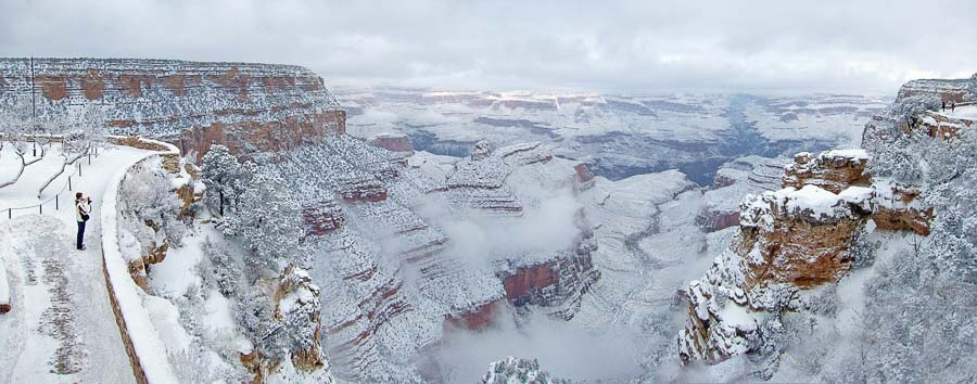 grand-canyon-in winter time