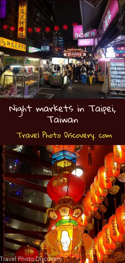 pinterest Night markets in Taipei, Taiwan