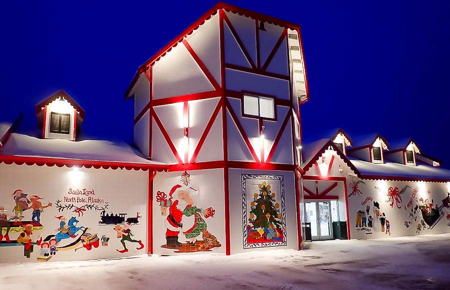 Santa Claus House North Pole Alaska