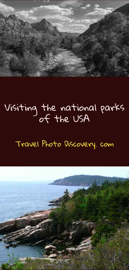 Pinterest Visiting the national parks of the USA by state