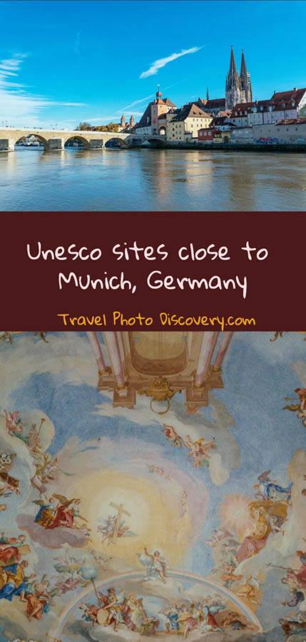 pinterest 5 unesco site close to munich, germany