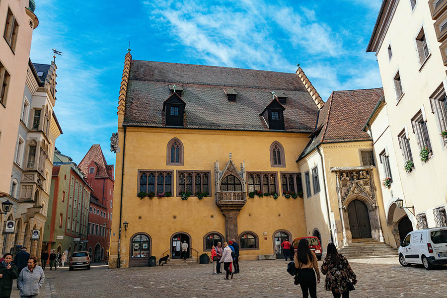regensburg town hall and seat of the perpetual diet