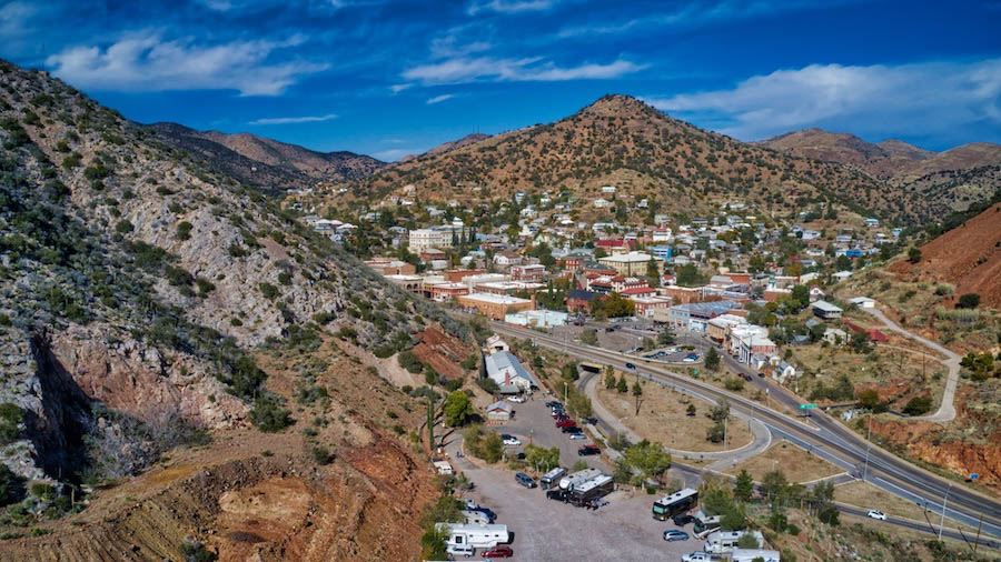 Tucson to Bisbee-road trip