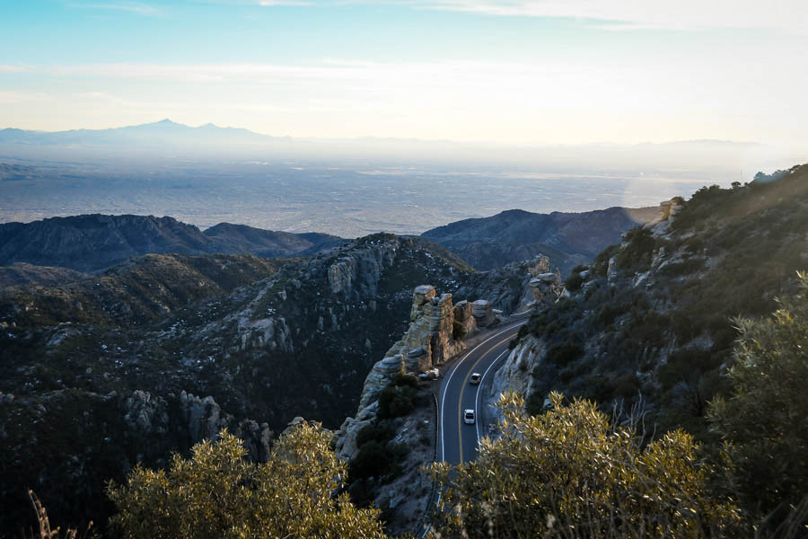Road trip to Mount Lemmon