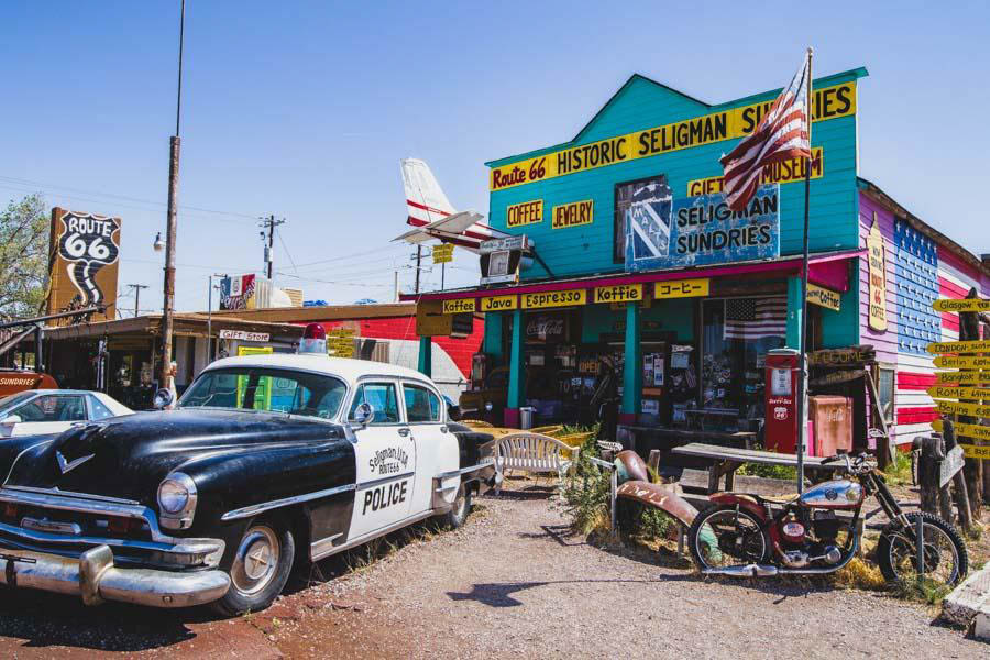 Route 66 road trip Arizona