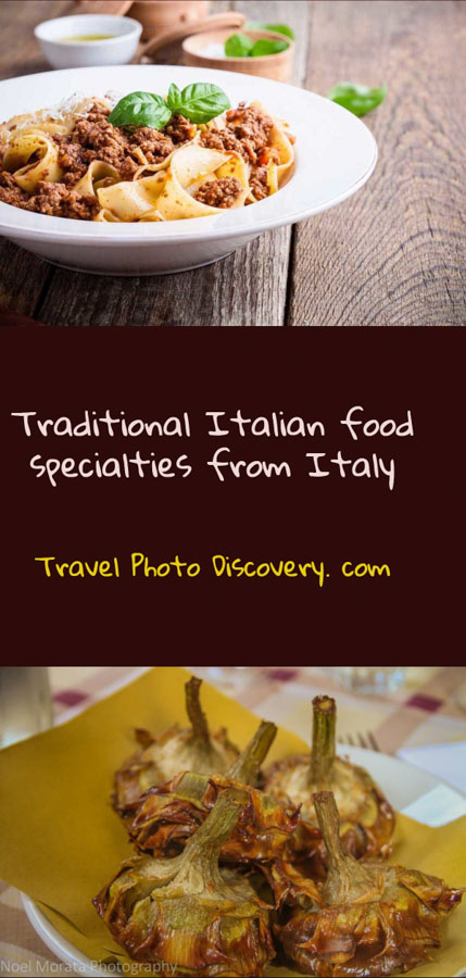 pinterest Traditional Italian food specialties from Italy