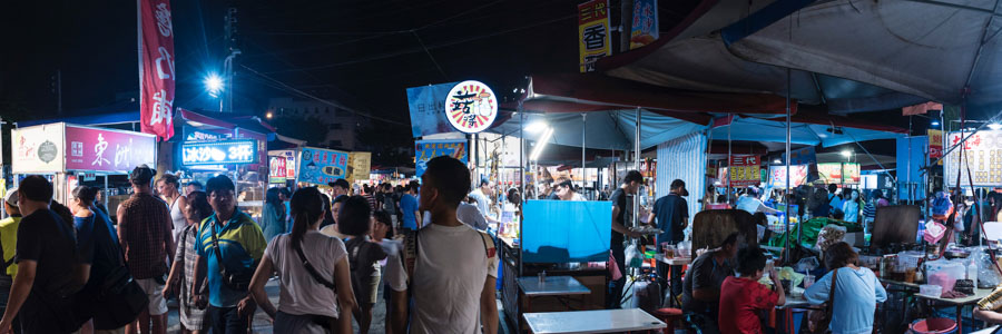 Garden-Night-Market in Tainan