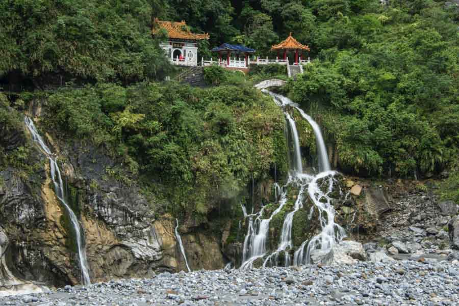 Taroko-Gorge In Taiwan