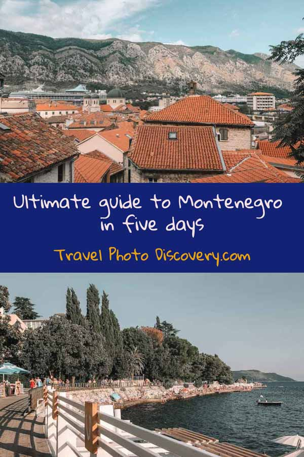 Pinterest Ultimate guide to Montenegro in five days