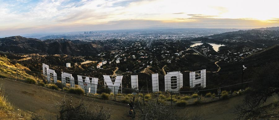 Hiking the iconic Hollywood sign