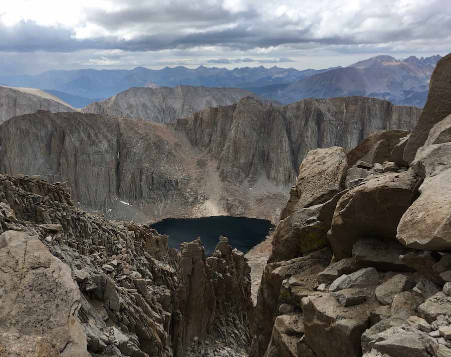 mount whitney-trail to the top