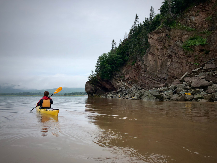 Kayak at the Hopewell Rocks