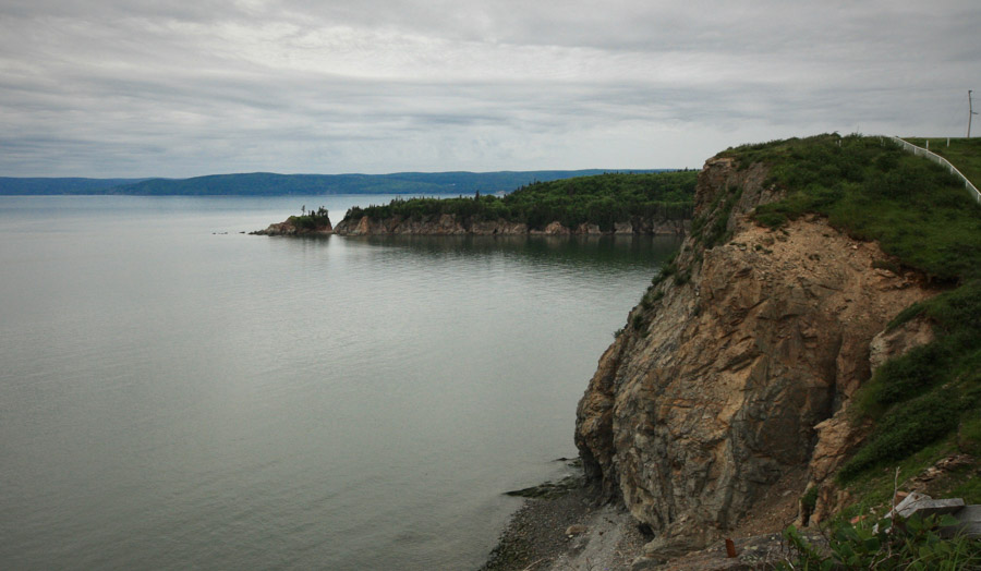 Cape Enrage lookout point