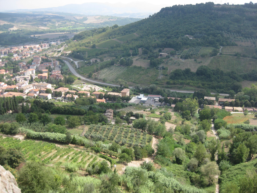 Orvieto views from above