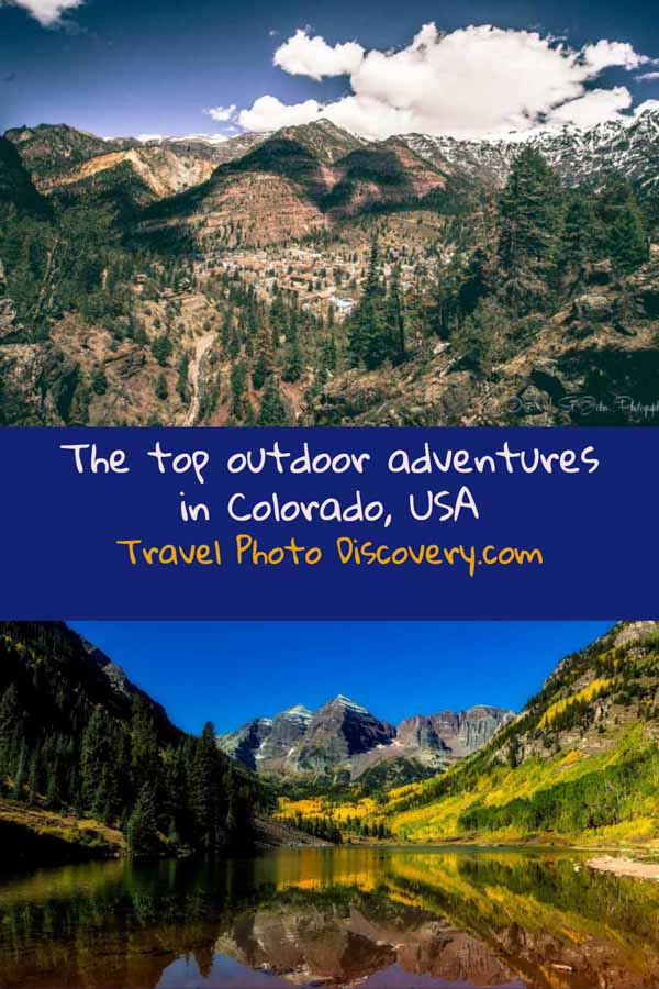 pinterest image Best places to visit in Colorado