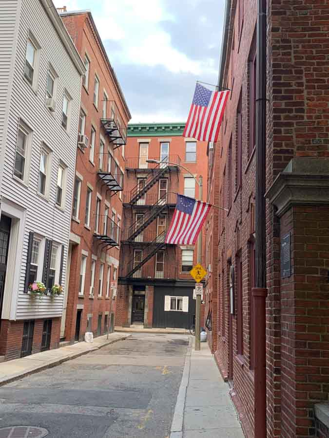VIsiting Boston's North End