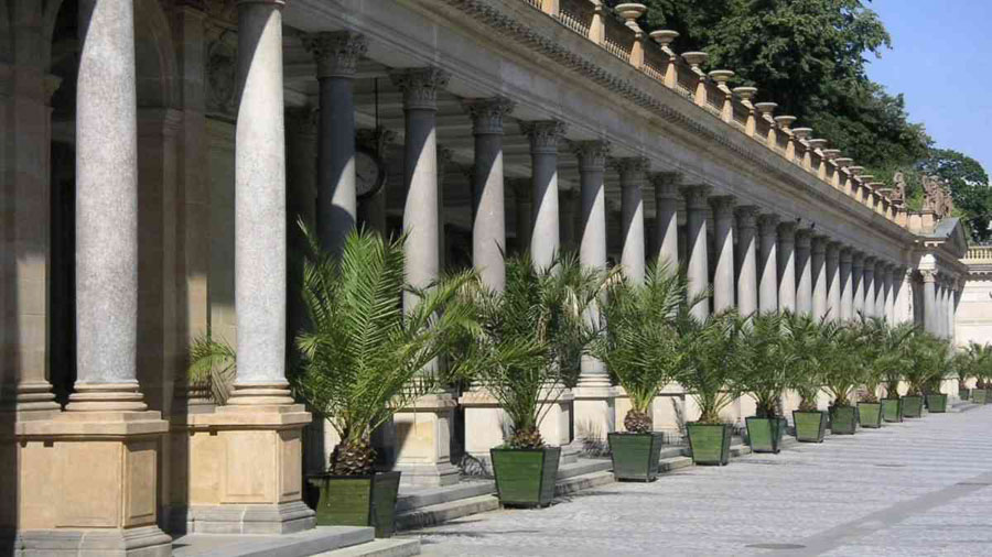 Exploring the spa town of Karlovy Vary