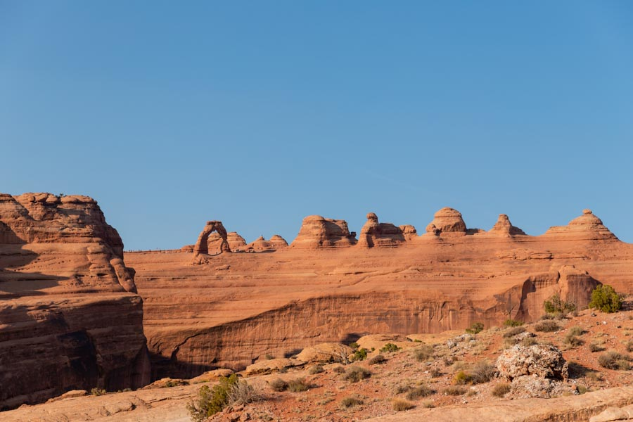 Exploring Arches National Park's scenic drives