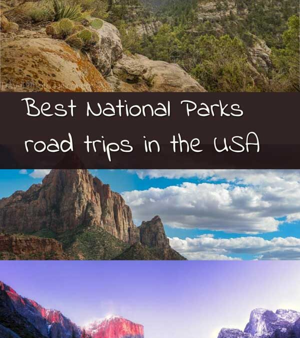 Best USA National Parks scenic road trips