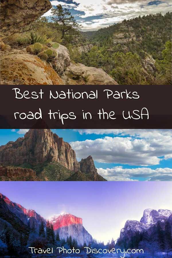 Pinterest Best National parks road trips in the USA