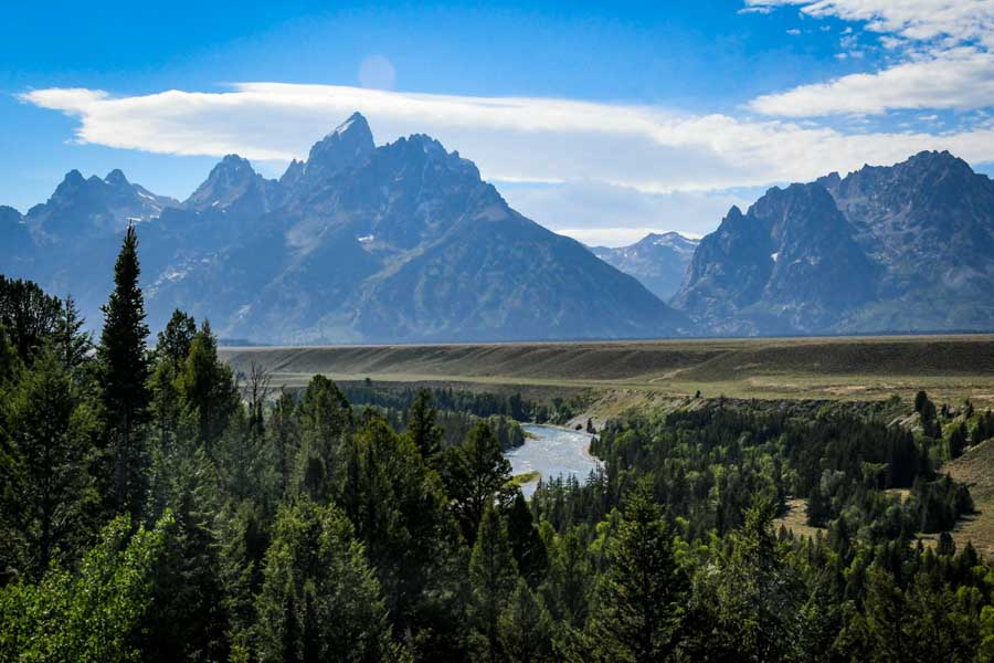 Grand Teton National Park and scenic drives