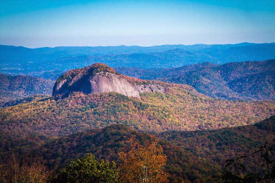 Looking Glass Rock scenic road