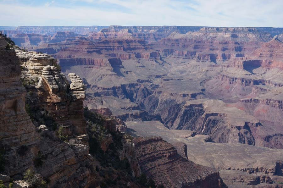 grand canyon scenic drive and views