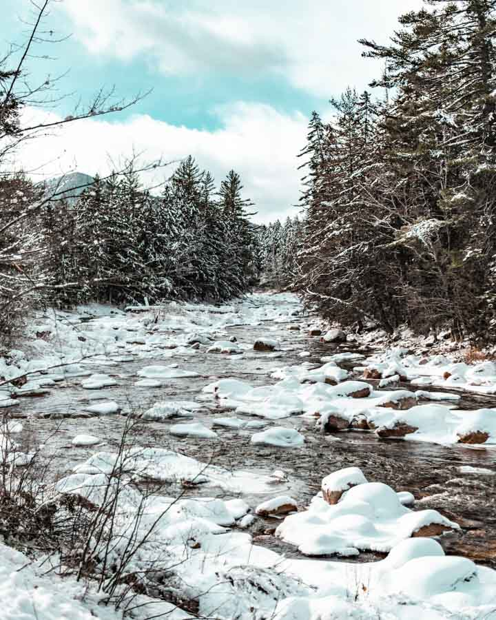The White Mountain National Forest road trip