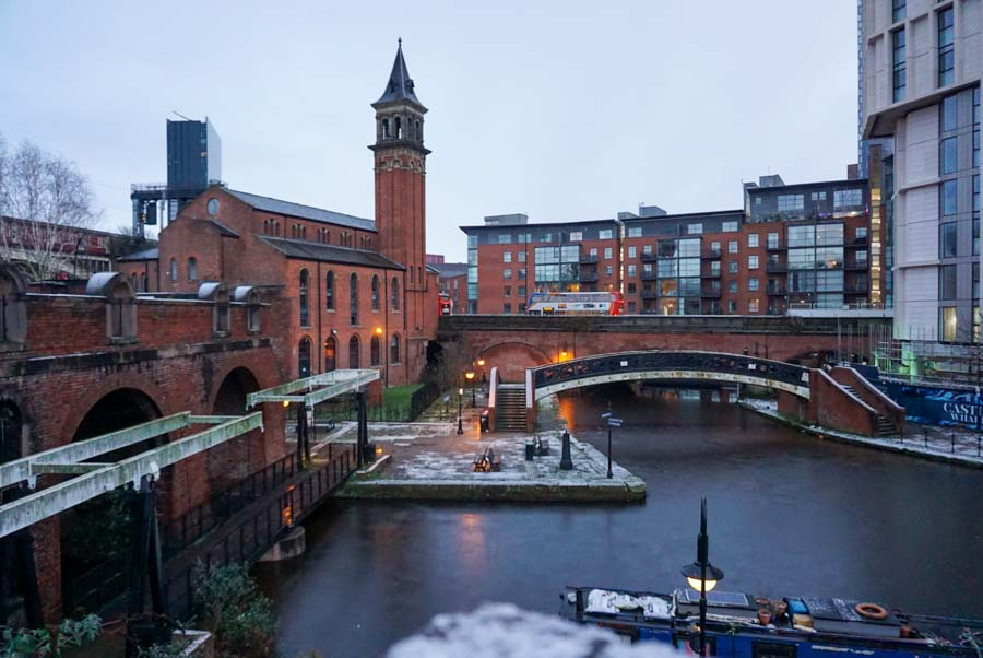 A visit to Manchester