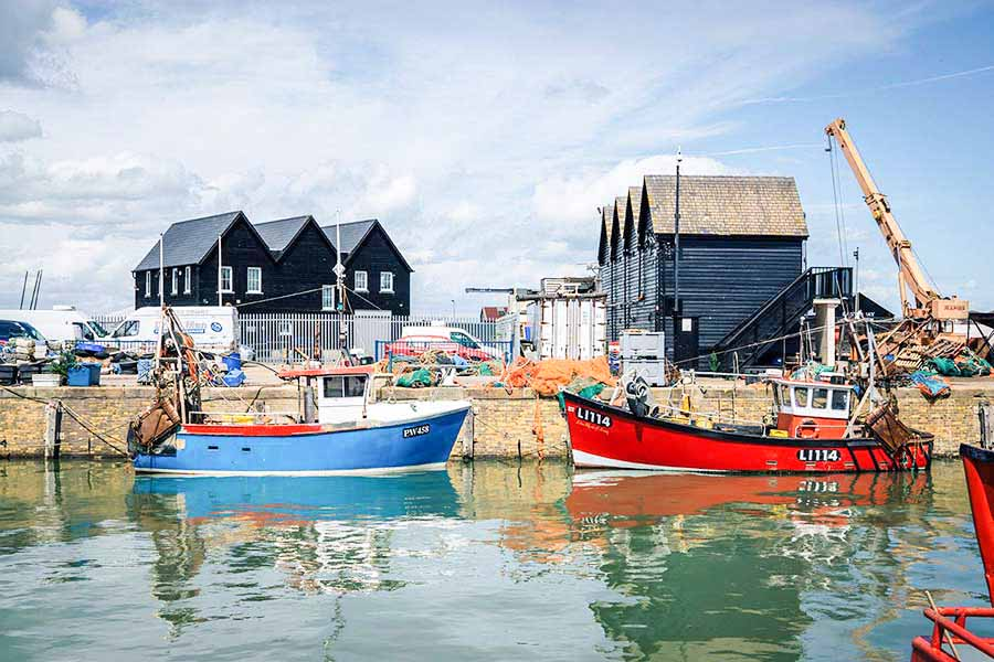 Visiting Whitstable