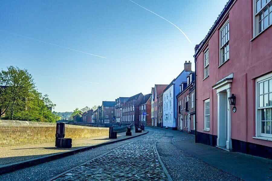 Medieval city of Norwich